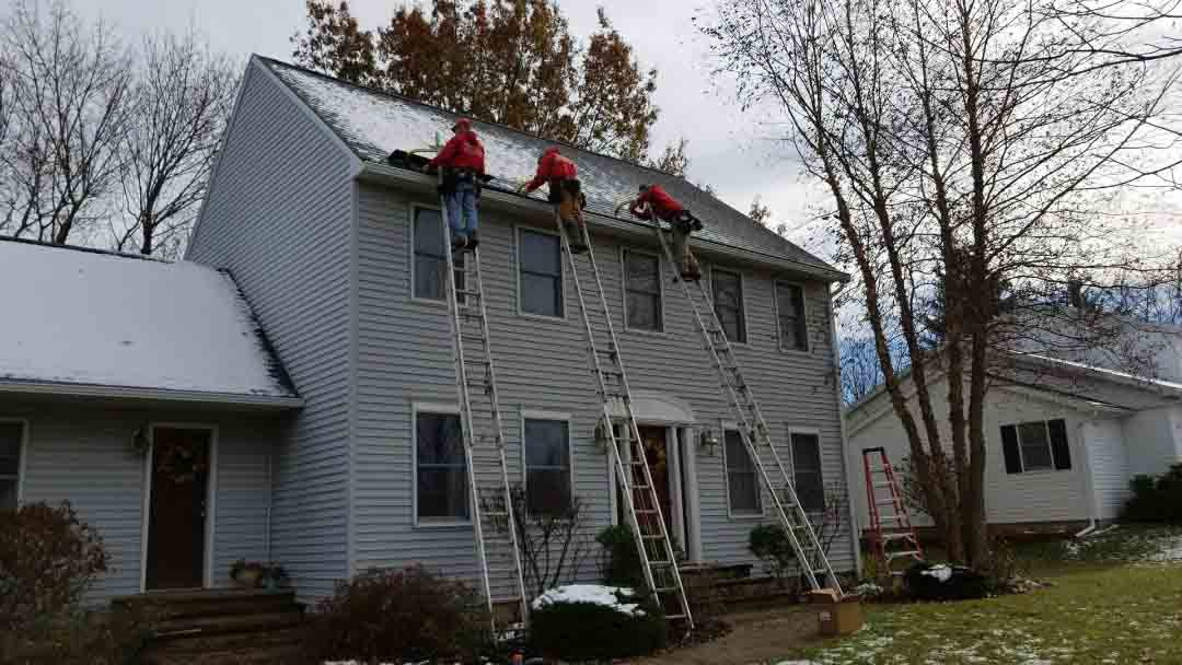 Seamless Gutters Pictures Canastota Ny Barry Best